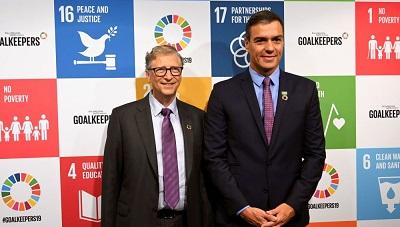Editorial: La derecha descompuesta por el halago de Bill Gates a Pedro Sánchez y la petición del premio Princesa de Asturias por el Padre Angel