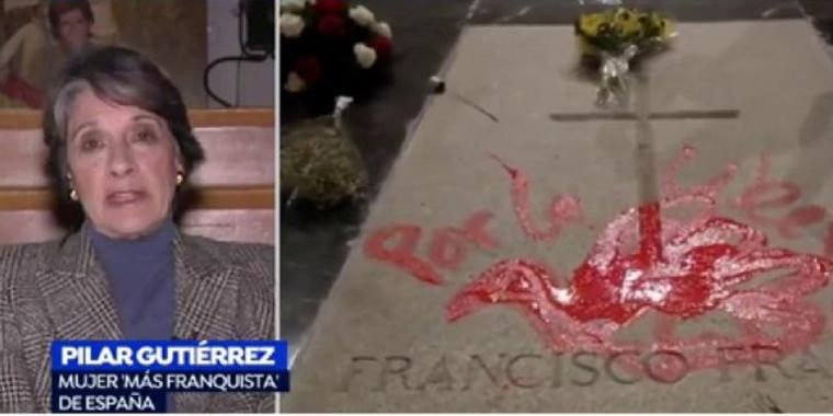 El moderador de Movimiento por España lanza amenazas de muerte para quién saque al genocida Francisco Franco de su tumba