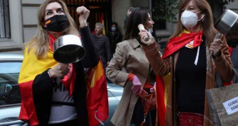 EDITORIAL: Los ricos llorones del barrio de Salamanca ya saben lo que es una cacerola y un cucharón