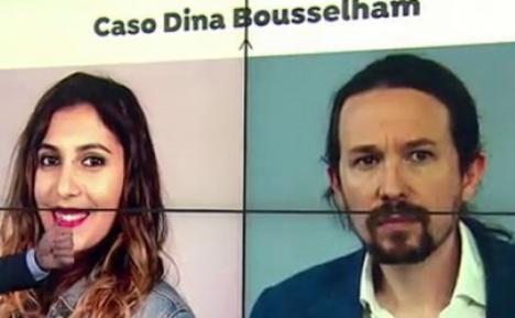 La Fiscalía filtró datos a Iglesias en el caso Dina