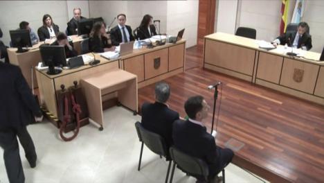 El juez expulsa a Juan Carlos Quer de la sala por gritarle a 'El Chicle':