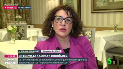 Soraya Rodríguez, exportavoz del PSOE, se pasa a Ciudadanos