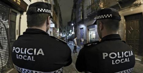 CSIF pide test rápidos de COVID-19 para los más de 900 agentes de la Policía Local en Almería