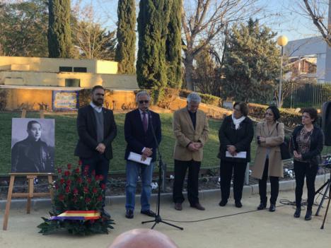 El PSOE de Lorca homenajea al Alcalde socialista Fernando Chuecos, en el 80 aniversario de su fusilamiento