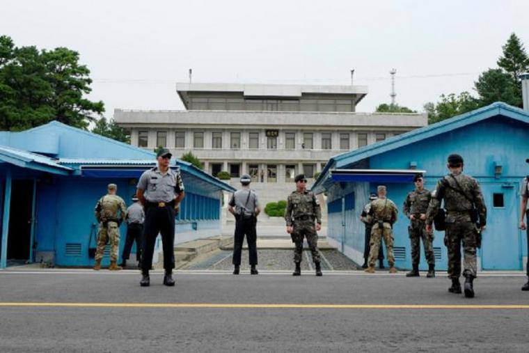 Intercambio de disparos en la zona desmilitarizada entre Militares de las dos Coreas