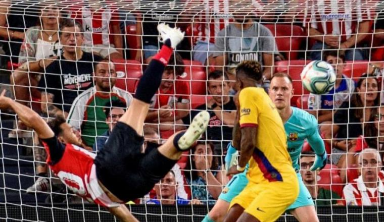 El Bilbao machaca al Barcelona en la primera jornada