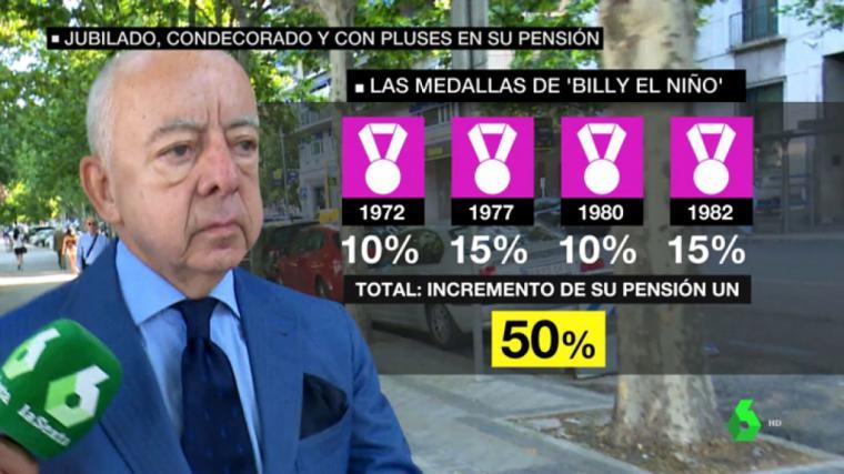 Muere por coronavirus el torturador del franquismo Billy el Niño