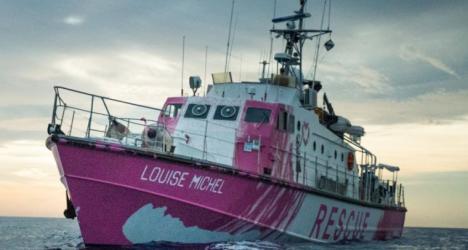Banksy financia un barco para rescatar migrantes