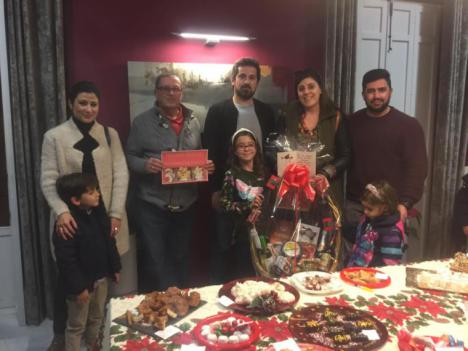 María del Mar Navarro obtiene el primer premio en el IX Concurso de Dulces de Navidad de Puerto Lumbreras