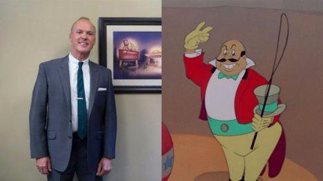 Michael Keaton será el villano de la película en acción real de Dumbo