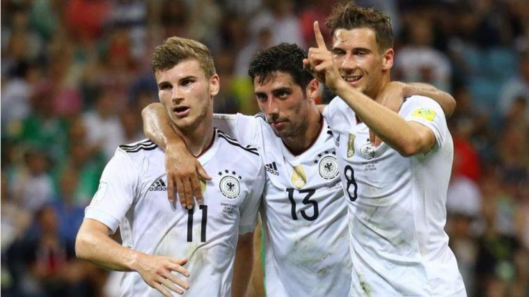 Alemania a la final tras deshacerse de México en dos minutos