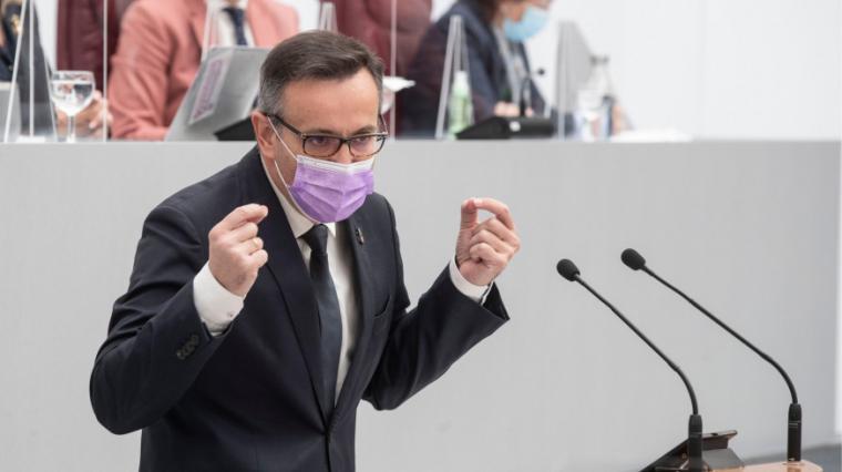 El contundente discurso de Diego Conesa durante la Moción de Censura