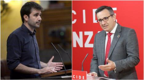 El PSOE y Unidas Podemos coinciden en que la deslealtad del Gobierno regional de Murcia dificulta la aplicación de medidas sociales en la Región