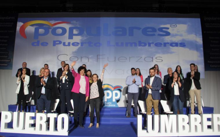 El Partido Popular de Puerto Lumbreras presenta una lista renovada compuesta por personas con experiencia y capacidad de gestión