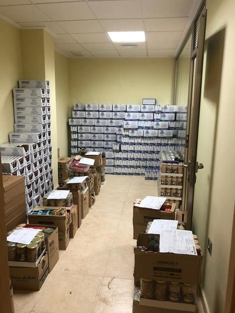 El Ayuntamiento de Puerto Lumbreras continúa el reparto de alimentos a las familias más vulnerables ante la pandemia de COVID-19