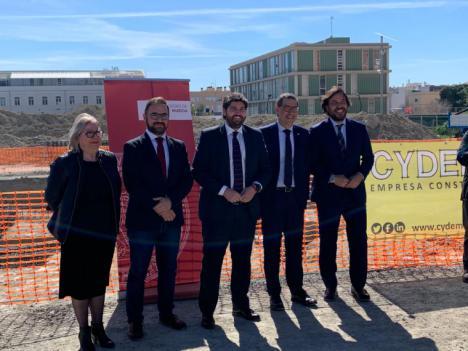 La Fundación Poncemar inicia la construcción de su nuevo Centro de Formación en el Campus Universitario de Lorca