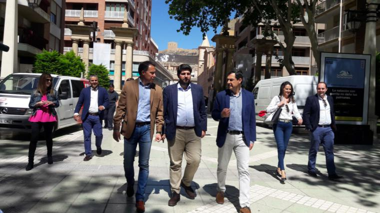 """El Alcalde de Lorca """"no voy a consentir que se juegue con el futuro de nuestros agricultores y ganaderos, el trasvase del Tajo no se puede cerrar"""""""