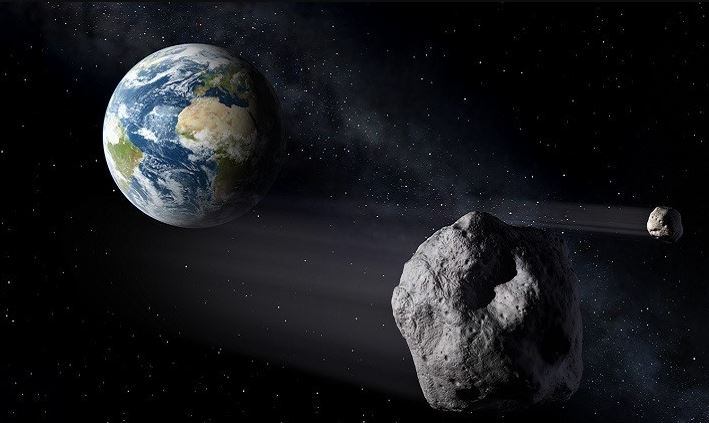 Un asteroide gigante con su propia luna se aproxima a la Tierra