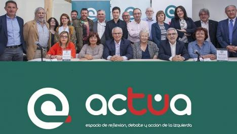 Llamazares y Garzón con Actúa pretenden aglutinar el voto de la izquierda descontenta y combatir a Vox