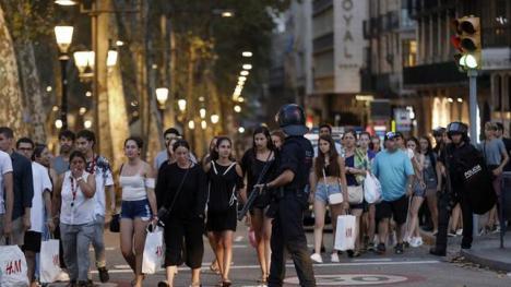 Barcelona en estado de alerta tras el aviso de EEUU y una orden de Mossos por riesgo de ataque