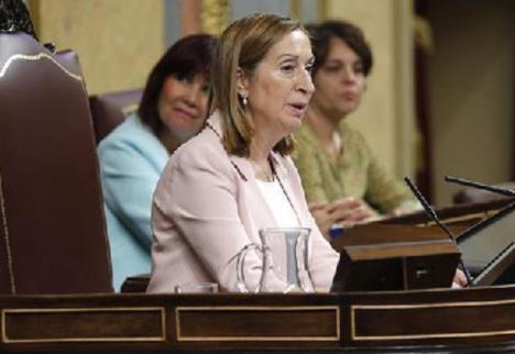 ANA PASTOR, EX-PRESIDENTA DEL CONGRESO, POSITIVO EN CORONAVIRUS