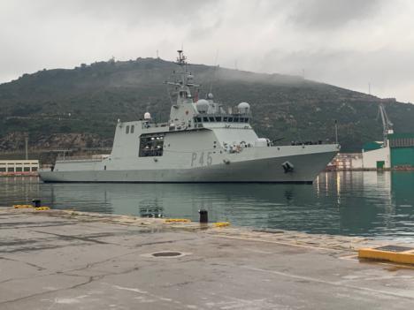"""El Buque de Acción Marítima """"Audaz"""" finaliza su Despliegue Africano"""