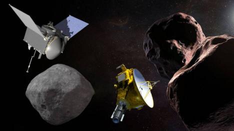 LA NASA LLEGA A BENNU, EL ASTEROIDE DE LA MUERTE QUE EN EL SIGLO XXII PUEDE COLISIONAR CON LA TIERRA
