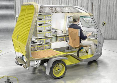Bufalino, la autocaravana más pequeña del mundo
