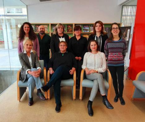 La Asociación de Amigos del Museo Arqueológico de Lorca concede los Premios Arquero de Oro 2020  a José Luis Molina Martínez y a la Red de Bibliotecas de Lorca