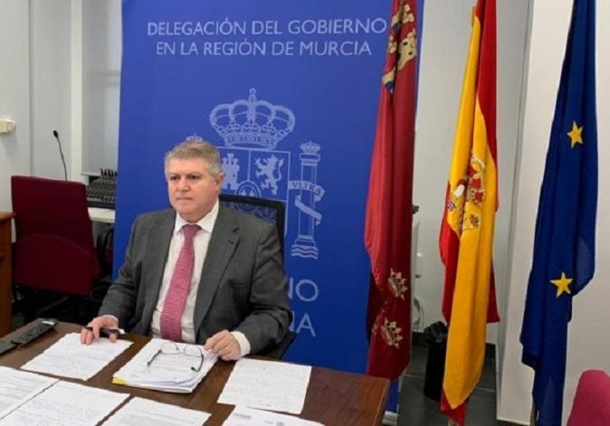 Vélez anuncia que cerca de 2.000 agentes de Guardia Civil y Policía Nacional garantizarán la seguridad de los turistas que visiten la Región de Murcia este verano