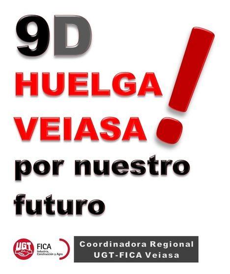 Respaldo de UGT-FICA Estatal a la Huelga de VEIASA-ITV por las justas reivindicaciones de los trabajadores/as Andaluces