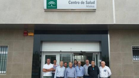 """El Alcalde de Albox encabeza un """"escrache telefónico"""" contra el Delegado de Salud de la Junta de Andalucía"""