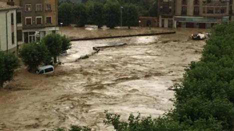 Muere un hombre en Navarra cuando su coche fue arrastrado por el agua