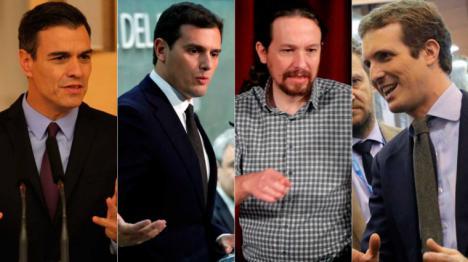 El PSOE ganaría las elecciones con el doble de escaños que el PP