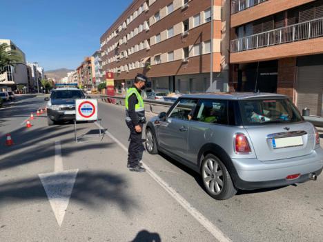 La Policía Local de Lorca interpuso durante esta semana pasada un total de 329 denuncias por el incumplimiento de las medidas sanitarias