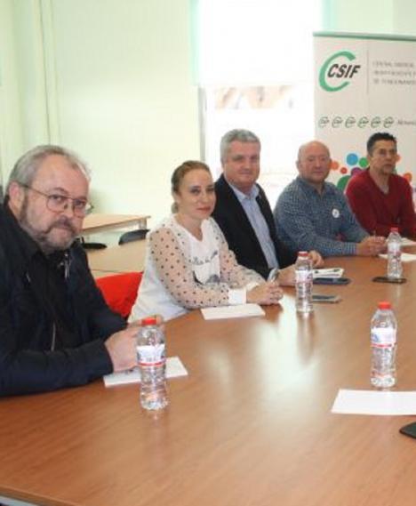 CSIF emplaza a ASEMPAL a minimizar los efectos negativos de la crisis sanitaria en la provincia de Almería