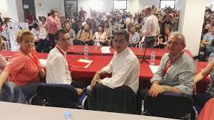 En Almería, el aparato y el dedo contra las bases y el 39 congreso del PSOE