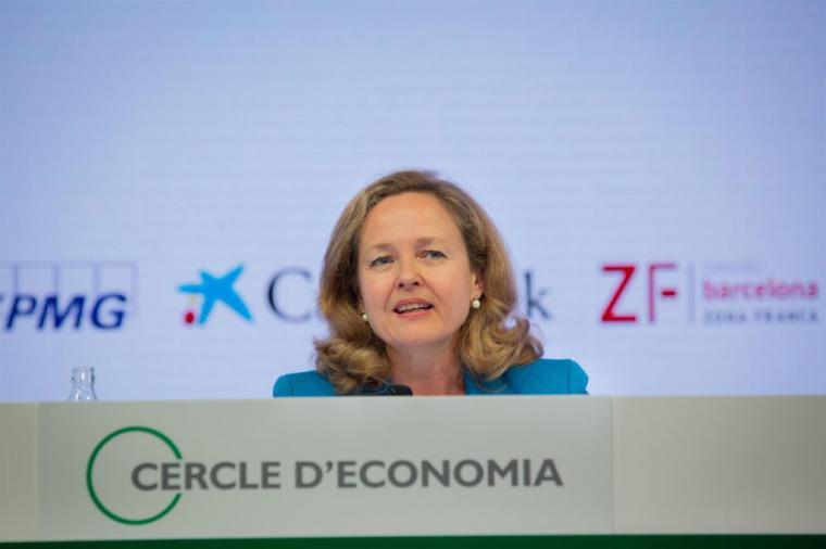 La candidatura de Nadia Calviño para presidir el FMI ha sido retirada por el Gobierno español