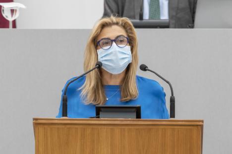"""Carmina Fernández: """"Estamos esperando la foto del PP con un notario clausurando regadíos ilegales"""""""