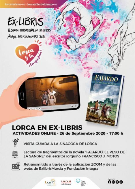 """Lorca participa por primera vez en la III Semana Internacional de las Letras 'Ex-Libris"""" de la Región de Murcia"""