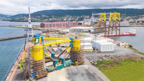 Navantia y Windar colaborarán con Harland & Wolff en el mercado de parques eólicos offshore en Reino Unido