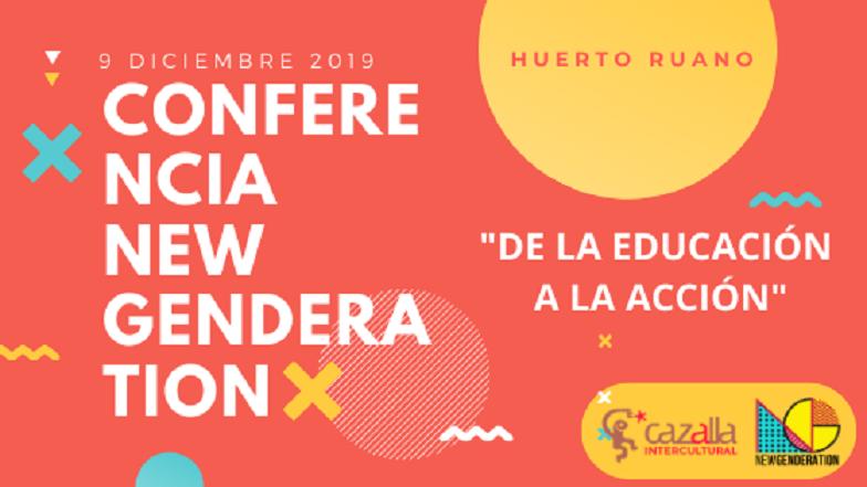 """El Huerto Ruano acogerá la conferencia internacional """"NEW GENDERATION: educando a los jóvenes contra la violencia de género: de la educación a la acción"""" el próximo 9 de diciembre"""
