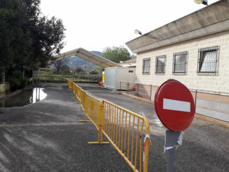 El Servicio Murciano de Salud instala en el consultorio de Campillo el primer centro del Área III para la realización de pruebas de coronavirus