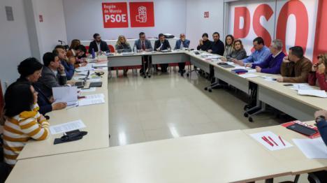 """Diego Conesa: """"El programa del Gobierno de España beneficia a la Región de Murcia y lo defenderemos con lealtad y exigencia"""""""