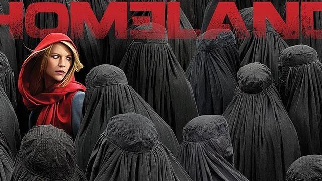Cuelan mensajes en el set de la serie 'Homeland' acusándola de racista