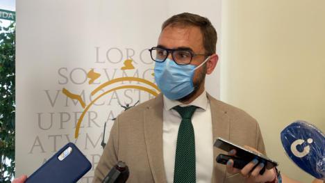El Alcalde de Lorca pone a disposición del Gobierno regional todos los recursos para evitar la propagación del virus en el municipio