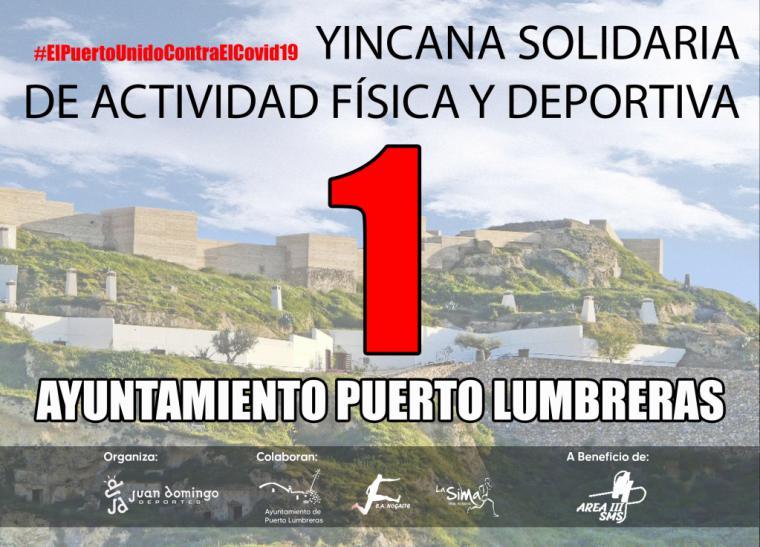 Puerto Lumbreras organiza el próximo domingo una yincana solidaria online para recaudar fondos para material sanitario para la lucha contra el COVID-19