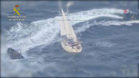 Un residente en Ibiza que transportaba 600 kilos de cocaína en un velero, detenido
