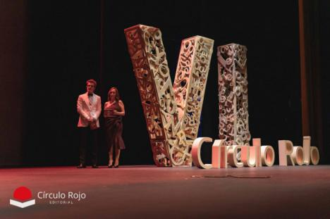 Círculo Rojo anuncia los autores ganadores de la VI Gala de las Letras celebrada en el Auditorio de Roquetas