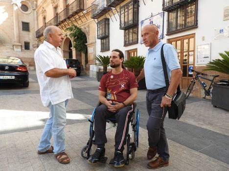 IU reclama más categorías de deportes adaptados a personas con discapacidad en Lorca